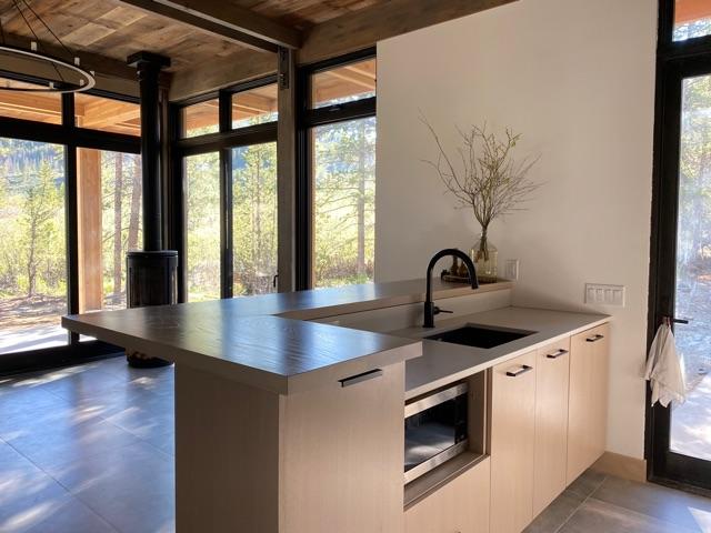 White oak counter top