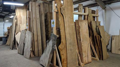 walnut slabs, ash slabs, elm slabs