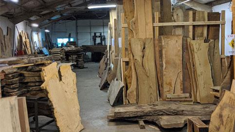 wood slab inventory